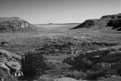 Entre 1050 y 1150 se asentaron en la región de Chaco Canyon ( en la foto) pueblos que darían lugar a lo que se conoce como el Periodo Clásico de la cultura Pueblo. El asentamiento conocido como Pueblo Bonito, es el conjunto más grande de los muchos asentamientos que formaban una verdadera aglomeración urbana.