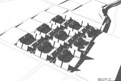 Los restos y los documentados al interior de las manzanas que rodean la actual Plaza de Armas del Cusco nos han permitido proponer un modelo tridimensional que ilustra la conformación del recinto del Qassana y su gran kallanka.