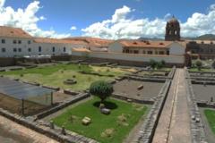 El conjunto del Cusicancha es uno de los más conocidos en el contexto del Cusco. Su musealización como parque arqueológico urbano ha permitido tener una idea más clara del tipo de recintos que configurarían la ciudad inca. Junto con los muros documentados en los edificios que no fueron derribados se puede completar la imagen de este complejo multifuncional.